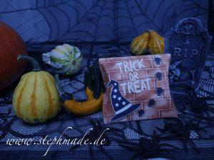 Halloween-Verpackung Teil 2