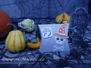 Halloween-Verpackung Teil 1
