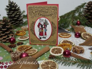 Nikolauskarte Father Christmas