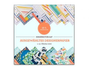 Read more about the article Designerpapier-Aktion im Oktober